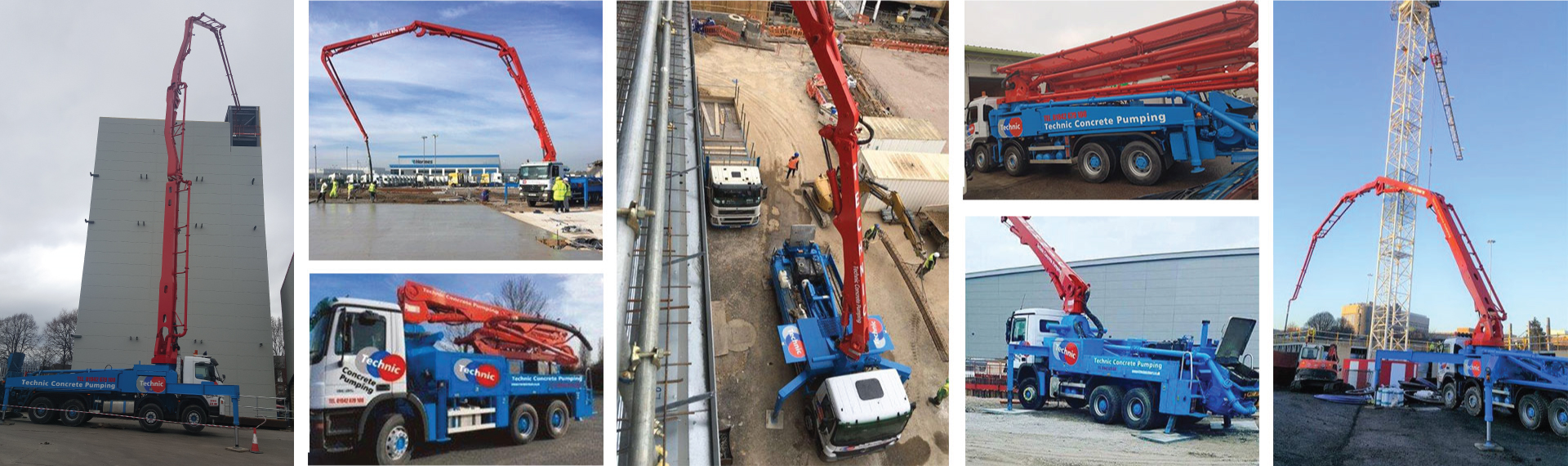 Mobile Concrete Pumps Hire Pump Plant Hire Placement UK
